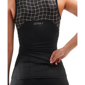 2XU Compression Koszulka triathlonowa Kobiety, czarny/złoty